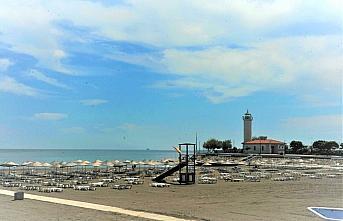 Samsun'da mavi bayraklı plaj sayısı 13'e yükseldi