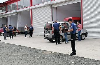 Samsun'da pompalı tüfekle vurulan kişi yaralandı