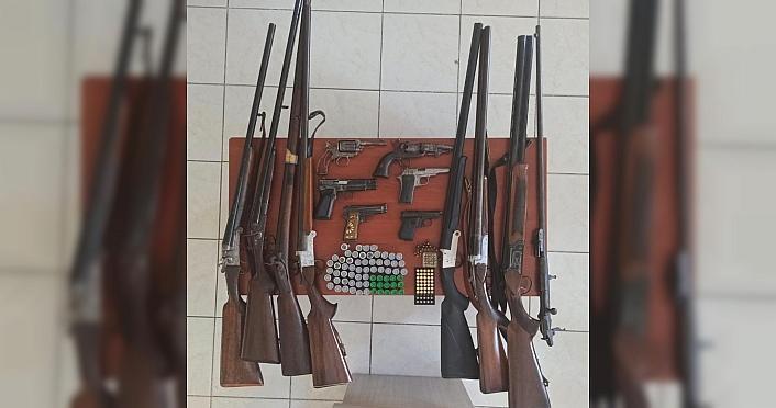 Samsun'da silah kaçakçılığı operasyonunda 1...