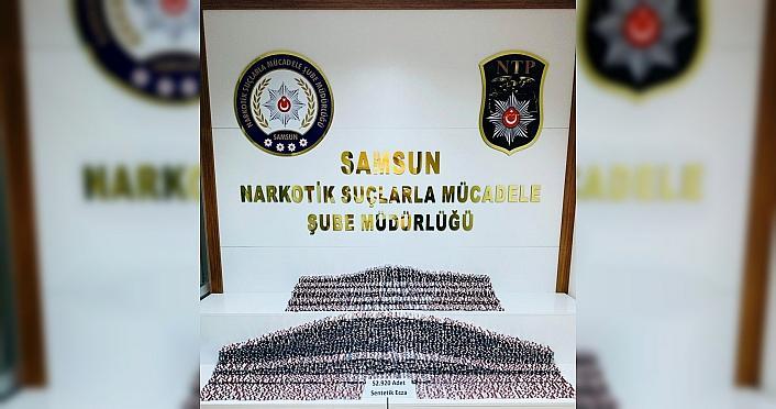 Samsun'da uyuşturucu operasyonunda 3 şüpheli yakalandı