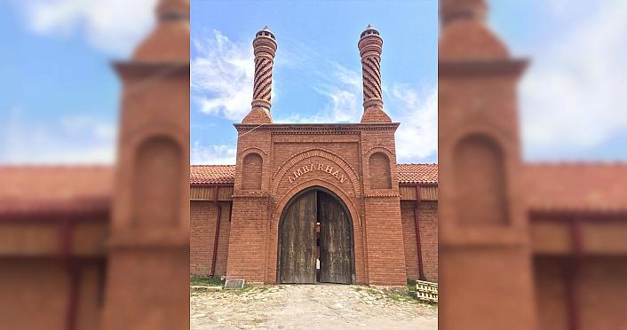 Samsun'daki tarihi Ambarhan'ın restorasyonu sürüyor