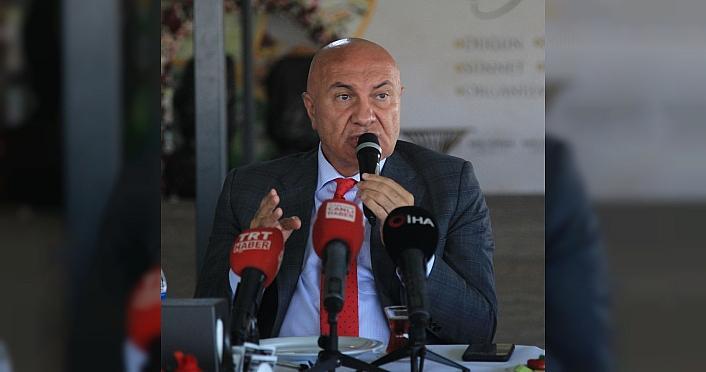 Samsunspor Başkanı Yüksel Yıldırım: