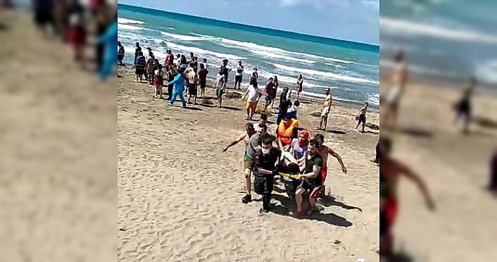 Sinop'ta baba ile iki oğlu denizde boğuldu