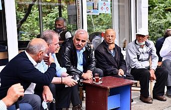 Trabzon'da şiddetli yağışta heyelan nedeniyle...