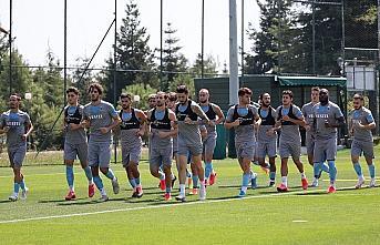 Trabzonspor, Hes Kablo Kayserispor maçı hazırlıklarına...