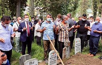 Trabzonspor'un eski yöneticilerinden Tütüncü son yolculuğuna uğurlandı