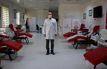 Türk Kızılaydan kan bağışında