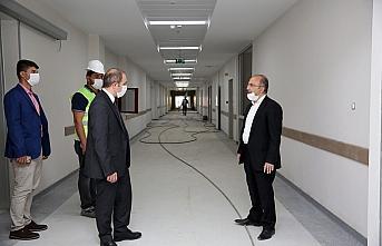 Yeni Bayburt Devlet Hastanesi yaz sonunda hasta kabulüne...