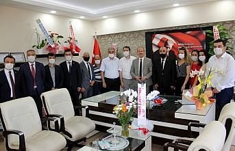 Zonguldak İl Milli Eğitim Müdürü Ali Tosun'a ziyaret
