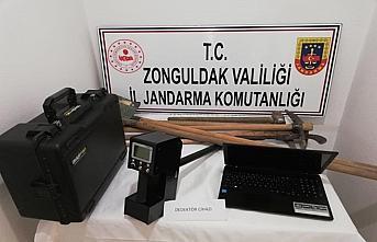 Zonguldak'ta izinsiz kazı yapan 5 kişi suçüstü...