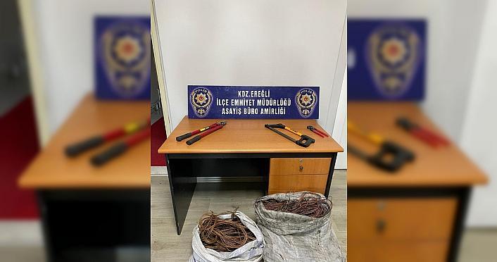 Zonguldak'ta kablo hırsızlığı iddiası