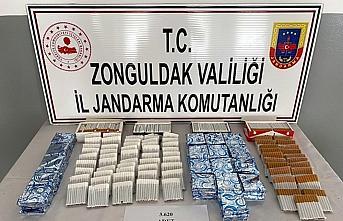 Zonguldak'ta kaçak sigara operasyonu
