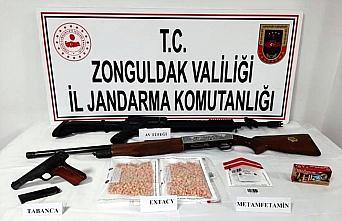 Zonguldak'ta ormanlık alanda gömülü iki erkek...