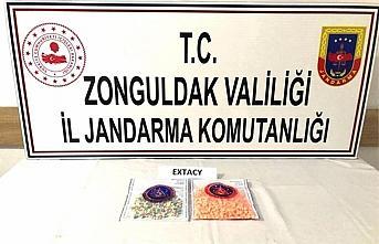 Zonguldak'ta uyuşturucu operasyonlarında yakalanan...