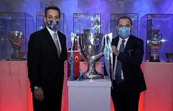 2019-2020 Sezonu Türkiye Kupası, Trabzonspor Şamil Ekinci Müzesi'ndeki yerini aldı