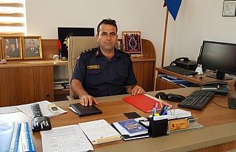 Alaçam Jandarma Komutanı Yüzbaşı Görmez görevine başladı