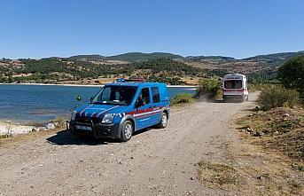 Amasya'da bir kişi serinlemek için girdiği baraj...