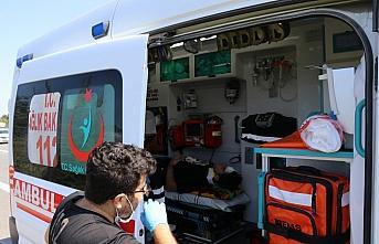 Anadolu Otoyolu'nda otomobil ile cip çarpıştı:...
