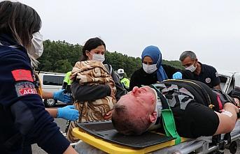 Anadolu Otoyolu'nda trafik kazası: 8 yaralı