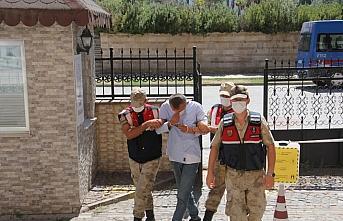 Bafra'daki uyuşturucu ve silah operasyonu: 1 tutuklama