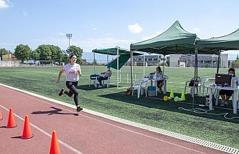 BAİBÜ'de Spor Bilimleri Fakültesinde özel yetenek...