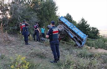 Bolu'da 13 yaşındaki çocuğun kullandığı traktör...