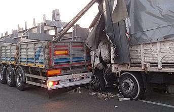 Bolu'da zincirleme trafik kazası: 1 yaralı