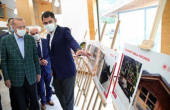 Cumhurbaşkanı Erdoğan, Ayder Yaylası'nda