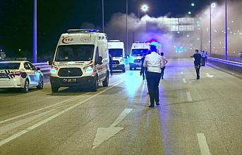 Düzce'de ambulans şarampole devrildi 3'ü sağlıkçı...