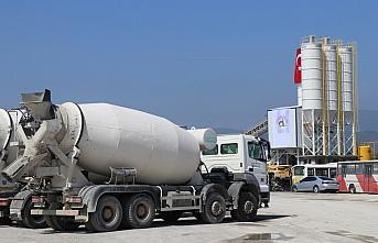 Düzce'de yeni beton santrali açıldı