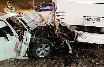Düzce'deki trafik kazasında torununun düğününden dönen anneanne öldü