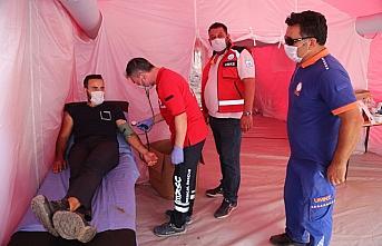 Giresun'da afetzedelere mobil sağlık hizmeti