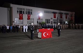 Giresun'da selde şehit olan Jandarma Uzman Çavuş...