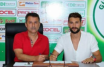 Giresunspor iç transferde Mehmet Taş'la sözleşme...