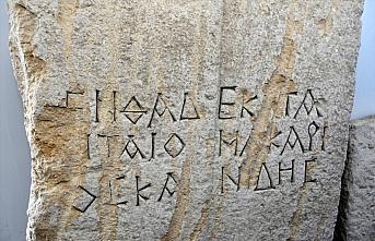 Gümüşhane'deki Satala Antik Kenti'nde 2 bin yıllık...