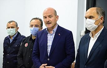 İçişleri Bakanı Soylu, Giresun'da sel bölgesinde:...