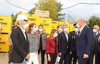 İçişleri Bakanı Soylu, Trabzon 112 Acil Çağrı...
