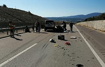 Karabük'te hafif ticari araç ile ATV çarpıştı:...
