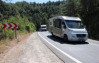 Karadeniz'de 6 ildeki kamp ve karavan alanlarının...