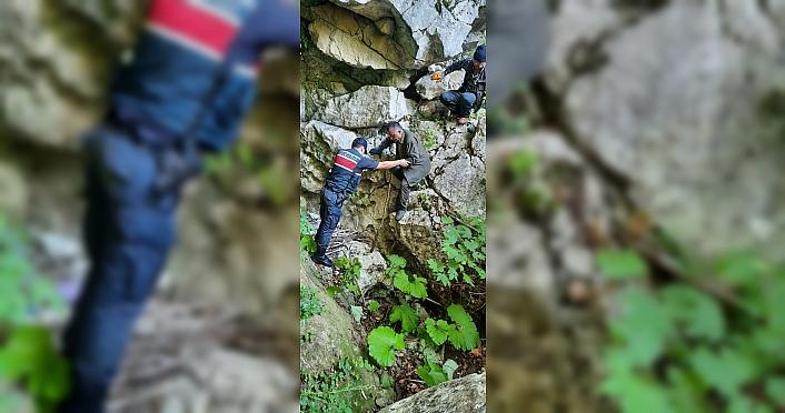 Kastamonu'da mantar toplarken kaybolan iki kişi bulundu