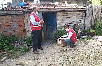 Kastamonu'da Türk Kızılay'dan 65 yaş üstü vatandaşlara...