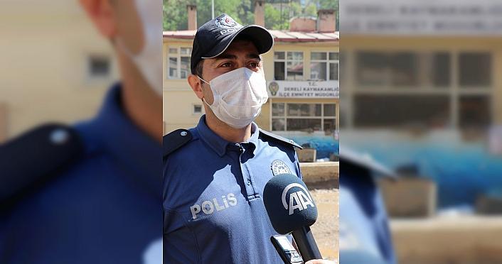 Polisin erken uyarısı Dereli'de daha büyük felaketi önledi