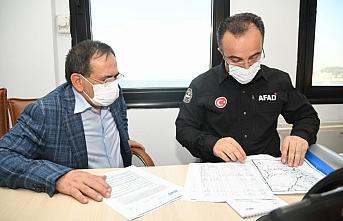 Samsun Büyükşehir Belediyesinden sel bölgesine...