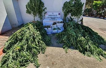 Samsun'da 24 kilo 673 gram kubar esrar ele geçirildi