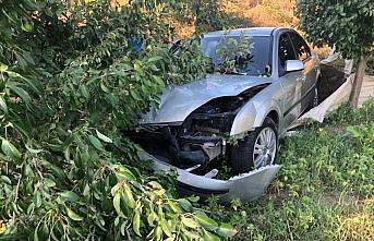 Samsun'da iki otomobil çarpıştı 5 kişi yaralandı