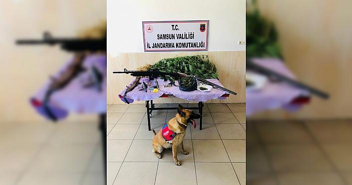 Samsun'da uyuşturucu operasyonlarında 12 kişi yakalandı