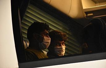 Samsun'da yakalanan 173 düzensiz göçmen sınır dışı edilmek üzere Edirne'ye gönderildi