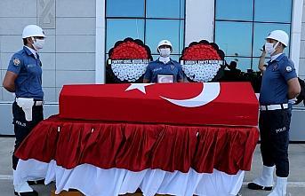 Şehit polis Adem Keskin için Samsun'da tören düzenlendi