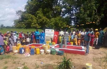 Şehit polis Şerife Özden Kalmış adına Afrika'da su kuyusu açıldı