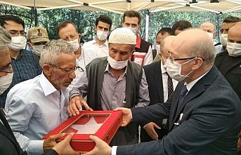 Şehit Uzman Çavuş Süleyman Ural'ın cenazesi Samsun'da...